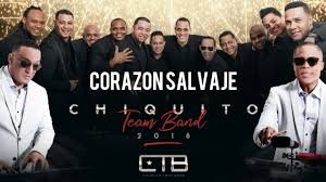 CHIQUITO TEAM BAND - Corazón Salvaje [Official Audio]
